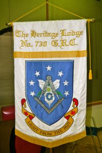Heritage Lodge No. 730 Banner